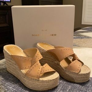 Adorable Marc Fisher Espadrille Wedges!